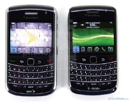 Blackberry phone.