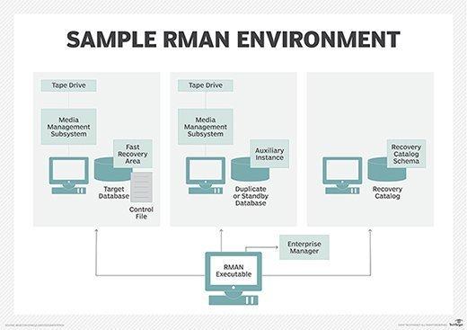 Oracle RMAN environment