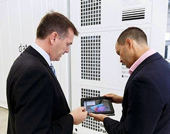 DataPod's Data Center Design iPad app allows customers to design a modular data center quickly and easily.