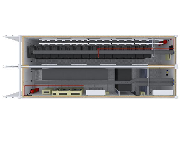 Self-contained data center