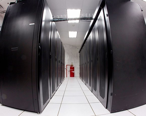 A secure underground data center