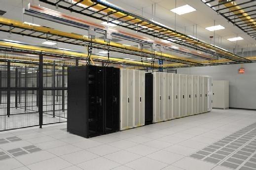 Figure 4. Iron Mountain colocation server room.