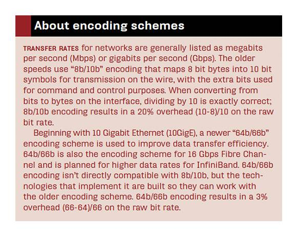 encoding schemes explained
