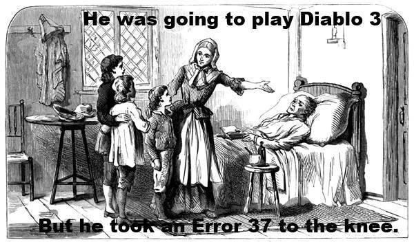 Diablo 3 Error%2037