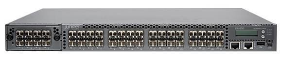 Juniper top-of-rack switching, front