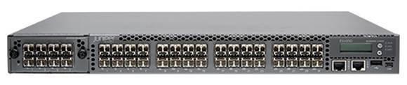 Juniper top-of-rack switching, front
