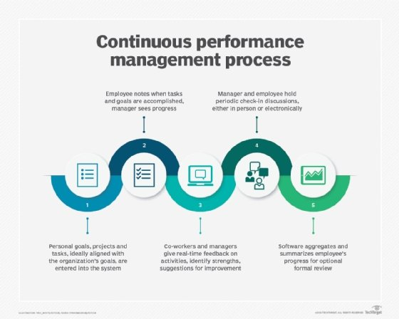 Continuous performance management process