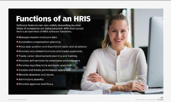 Functions of an HRIS