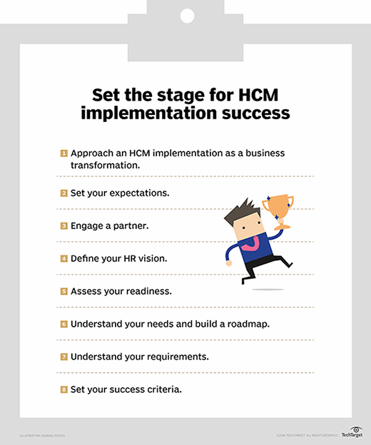 Eight keys to HCM implementation success