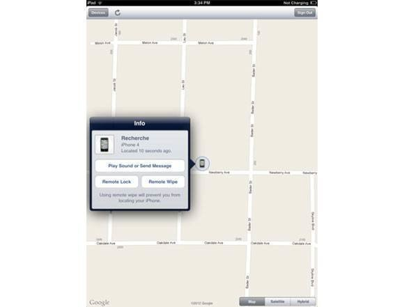 Find My iPhone/iPad