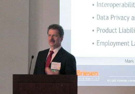 Mark Foley, attorney, von Briesen & Roper, Fusion 2016 CEO-CIO Symposium