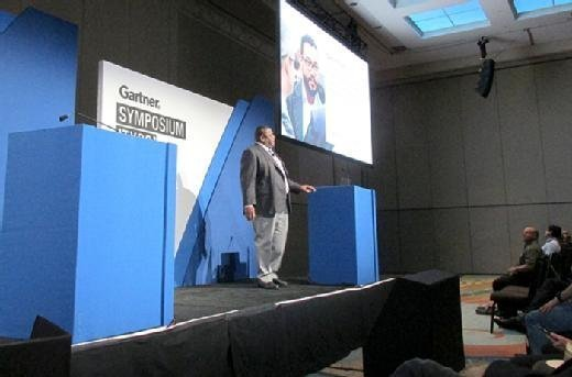 Gartner analyst Daryl Plummer at Gartner Symposium/ITxpo in Orlando, Fla.