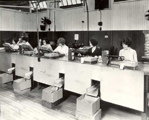 Hawthorne studies: Women in the relay assembly test room
