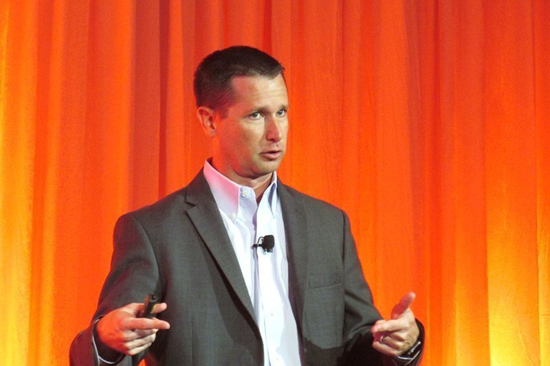 Analyst Kyle Hilgendorf at the Gartner Catalyst Conference
