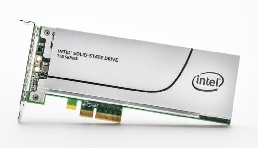 Example of a PCIe SSD.
