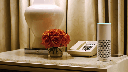 Voice applications in hotels help improve the satisfaction of guests. enterprise voice technology makes inroads in b2e, b2b2c - iotagenda wynn alexa mobile - Enterprise voice technology makes inroads in B2E, B2B2C