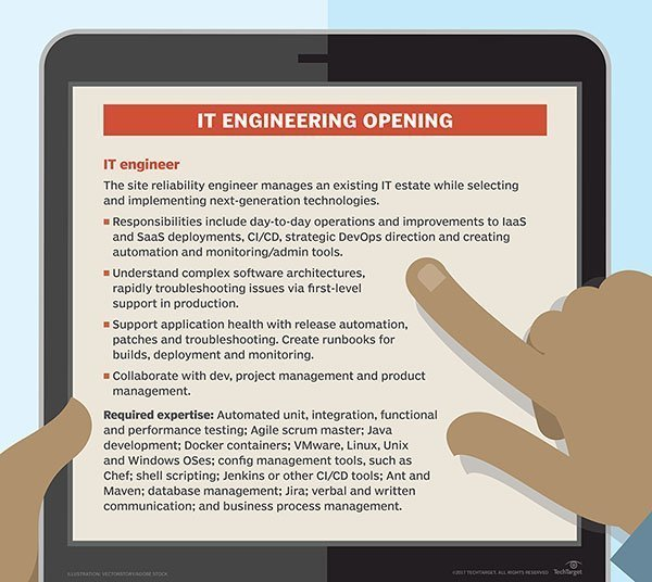 Do Ops Skills Fall Into An It Engineering Job Description