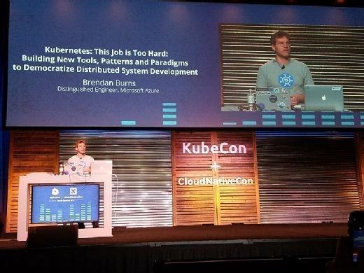 Brendan Burns, distinguished engineer at Microsoft Azure