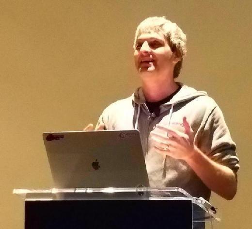 Matt Klein speaks at KubeCon