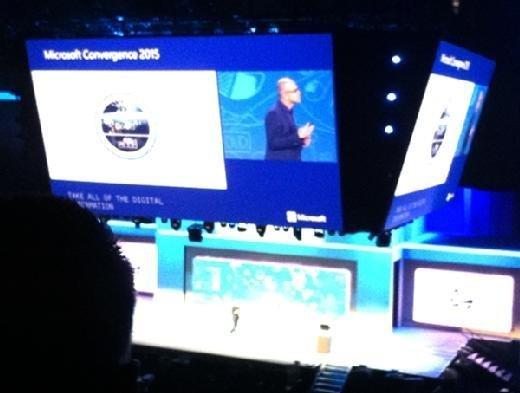 Microsoft CEO Satya Nadella at Convergence