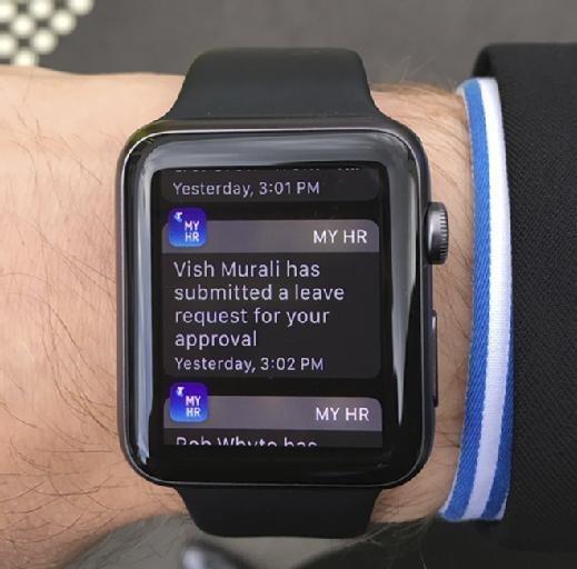 Telstra MyHR app