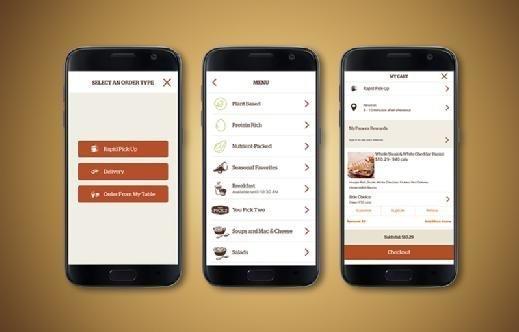Panera's smartphone app