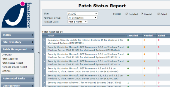 Patch-Management mit AVG Managed Workplace