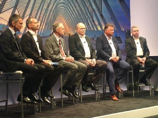 Customers Run Simple with SAP S/4HANA panel at Sapphire Now 2016