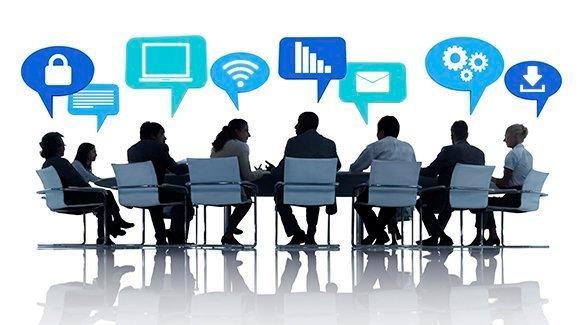 CIOs, IT leaders, meeting, table, C-level, IT priorities, IT discussion, discussion, image, spending, enterprise