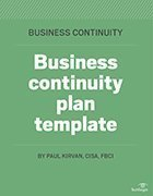 Sample Business Continuity Plan Template