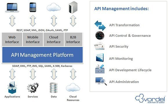 API management chart