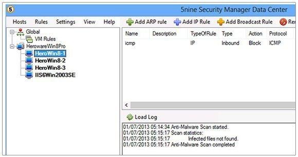 5nine Software's Security Manger