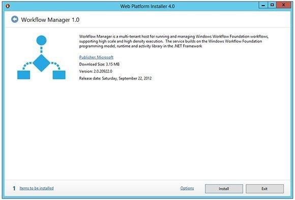 workflow installation process