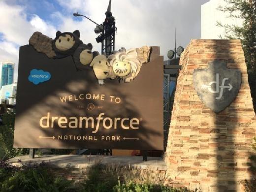 Dreamforce 2017 kicked off Monday