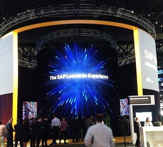 SAP Leonard Experience at Sapphire Now 2017.