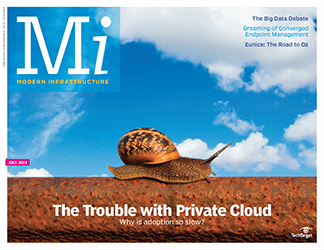 The problem with private cloud