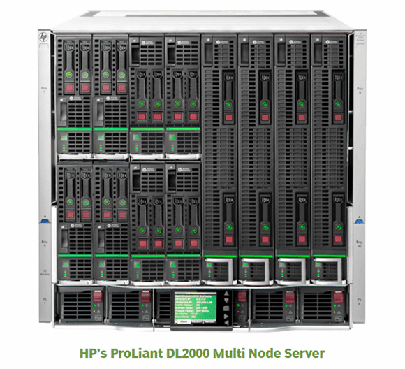 HP's ProLiant DL2000 Multi Node Server