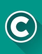 The copyright symbol, a 'c' wrapped in a circle.
