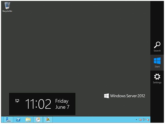 The Windows 8 Start icon restored