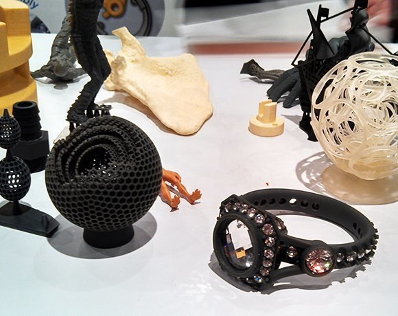 3-D printed items by EnvisionTEC