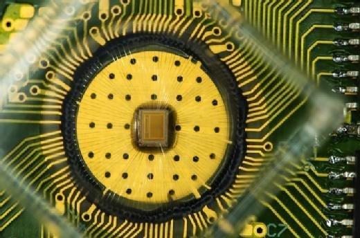 IBM's triple-level cell phase-change memory. (Photo courtesy of IBM.)
