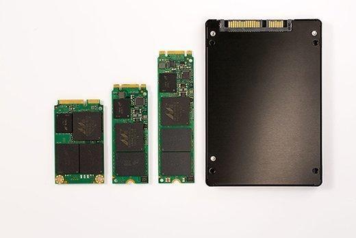 Micron SSD form factors