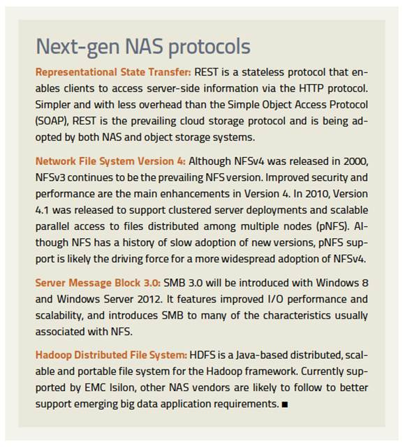 protocols for next-generation NAS