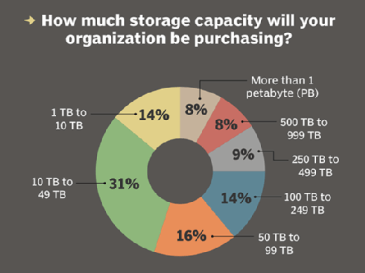 Storage capacity purchasing intentions