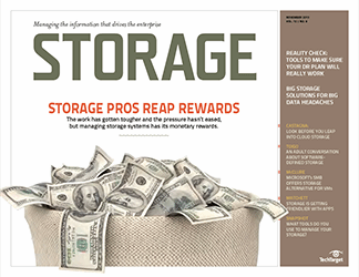Storage pros reap rewards in 2013 salary survey