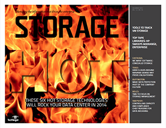 Our predictions of the hot data storage trends for 2014