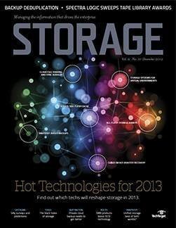 Which data storage technologies will reshape storage shops in 2013?