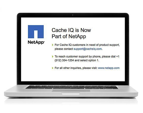 NetApp's CacheIQ