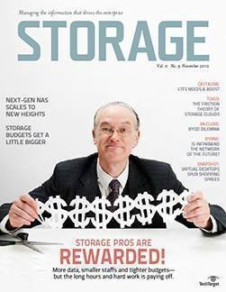 Salaries up for storage pros
