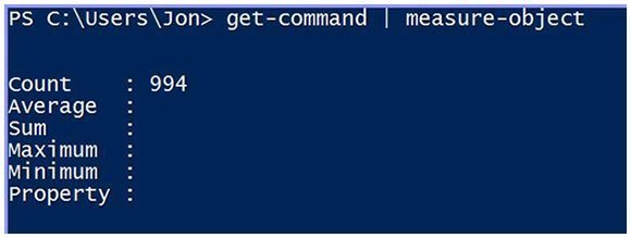 Current PowerShell session commands